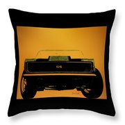 1968 Camaro Ss Head On Throw Pillow