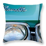 1968 Chevrolet Chevelle Headlight Throw Pillow