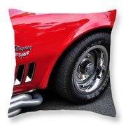 1968 Chevrolet Corvette Stingray Throw Pillow