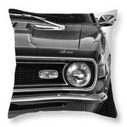 1968 Chevy Camaro Ss 350 Throw Pillow