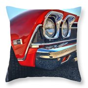 1968 Chevy Chevelle Ss 396 Throw Pillow