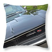 1968 Dodge Charger Throw Pillow