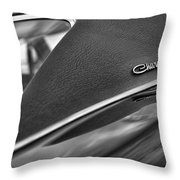 1968 Dodge Charger Rt Throw Pillow