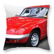 1968 Lotus - Elan S4 -  Full View Throw Pillow