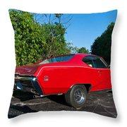 1969 Buick Gs Throw Pillow