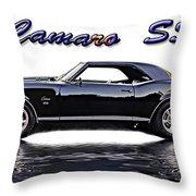 1969 Camaro Ss Throw Pillow