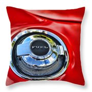 1969 Charger Fuel Cap Throw Pillow