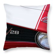 1969 Chevrolet Camaro Z28 Throw Pillow