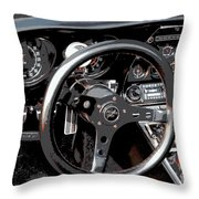 1969 Chevrolet Corvette Stingray - Ix Throw Pillow