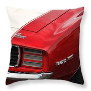 1969 Chevy Camaro Rs Throw Pillow