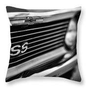 1969 Chevy Nova Ss  Throw Pillow