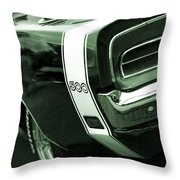1969 Dodge Charger 500 Throw Pillow