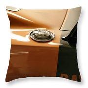 1969 Dodge Charger Daytona - Fuel Day Throw Pillow