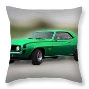 1969 L89 Camaro Throw Pillow
