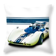 1969 Mrc Mkii Repco Brabham Throw Pillow