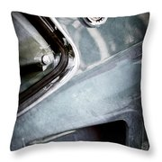 1969 Mustang Mach 1 Emblem Throw Pillow