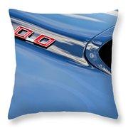 1969 Pontiac Firebird 400 Hood Throw Pillow