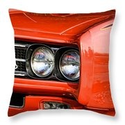 1969 Pontiac Gto The Judge Throw Pillow
