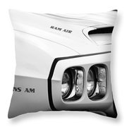 1969 Pontiac Trans Am  Throw Pillow