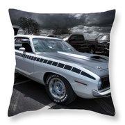1970 Aar Barracuda Throw Pillow