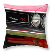 1970 Challenger Grill Throw Pillow