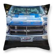 1970 Chevy Chevelle 454 Ss   Throw Pillow