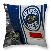 1970 Dodge Coronet Super Bee Throw Pillow