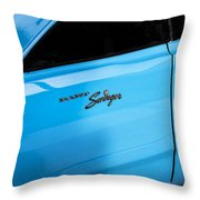 1970 Dodge Dart Swinger 340 Throw Pillow