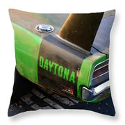1970 Dodge Daytona Charger Throw Pillow