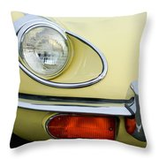 1970 Jaguar Xk Type-e Headlight Throw Pillow