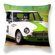 1970 Mgb Gt Throw Pillow