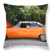 1970 Plymouth Dodge Superbird Throw Pillow