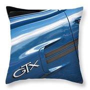 1970 Plymouth Gtx 440 Throw Pillow