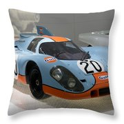 1970 Porsche 917 Kh Coupe Throw Pillow