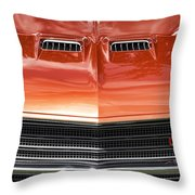 1971 Buick Gs Sport Coupe Throw Pillow