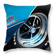 1971 Buick Gs Stage 1 Throw Pillow