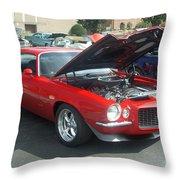 1971 Chevrolet Camaro Throw Pillow