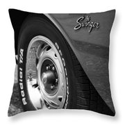 1971 Dodge Dart Swinger Throw Pillow