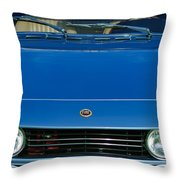 1971 Fiat Dino 2.4 Grille Throw Pillow