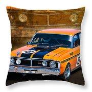 1971 Ford Falcon Xy Gt Throw Pillow