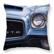 1971 Gto Throw Pillow