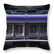1971 Plymouth 'cuda 440 Throw Pillow by Gordon Dean II