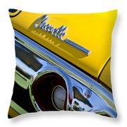 1972 Chevrolet Chevelle Taillight Emblem Throw Pillow