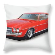 1972 Pontiac Lemans Throw Pillow