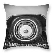 1978 Cadillac Eldorado Bw Throw Pillow