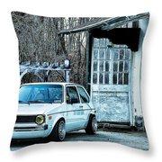 1979 Vw Rabbit II Throw Pillow