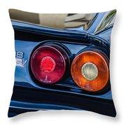 1980 Ferrari 308 Gtsi Taillight Emblem -0027c Throw Pillow