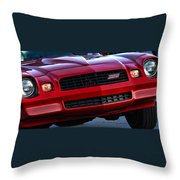 1980 Z-28 Camaro Throw Pillow