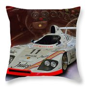 1981 Porsche 936/81 Spyder Throw Pillow