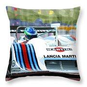 1982 Lancia Lc1 Martini Throw Pillow